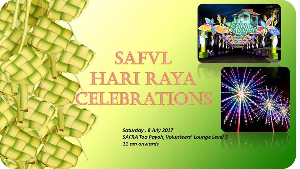 SAFVL Hari Raya Celebrations
