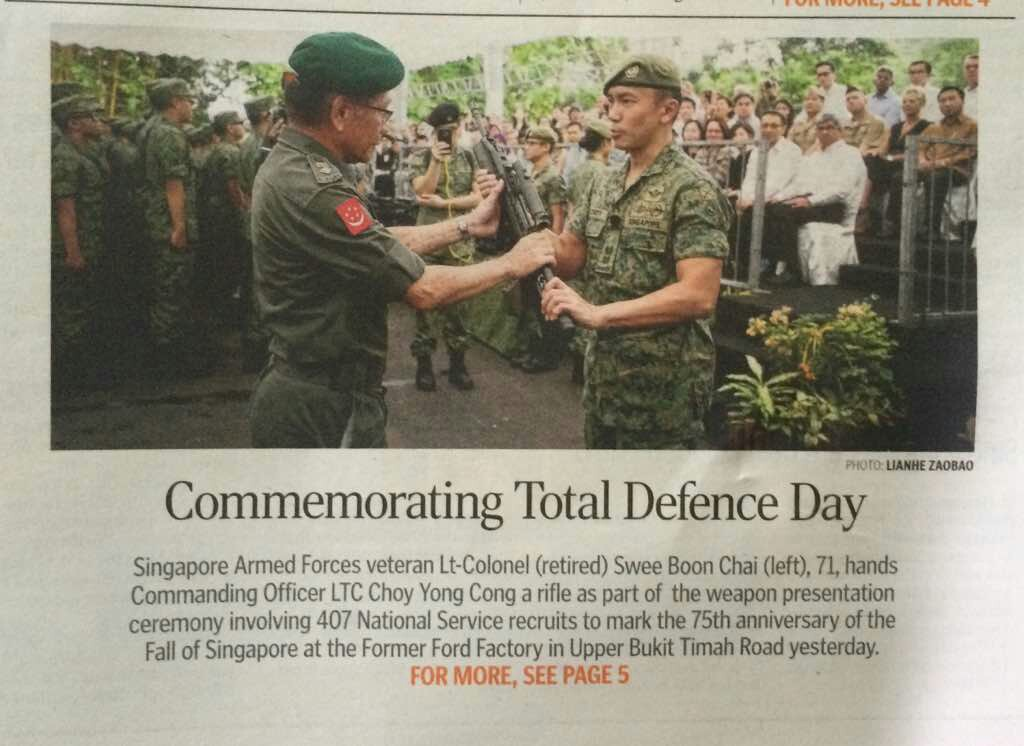 SAFVL attends Combined TD Day Commemoration Event 2017