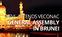 SAFVL attends VECONAC General Assembly in Brunei