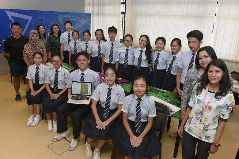 Students' e-books retell S'pore history
